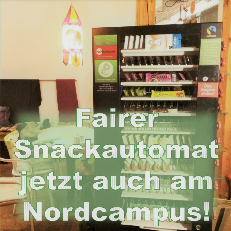 Fairer Snackautomat Nordcampus